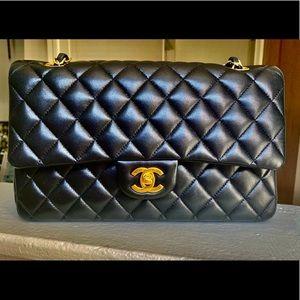 Chanel Medium Classic Flap Black Lambskin